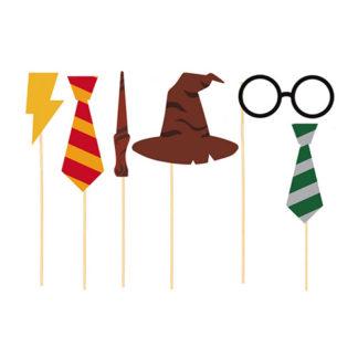 Bastoncini Harry Potter set 6 pezzi