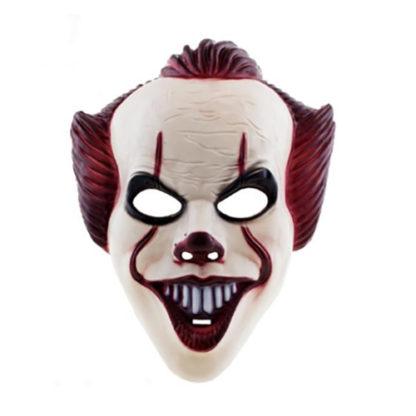 Maschera clown Stile IT in pvc