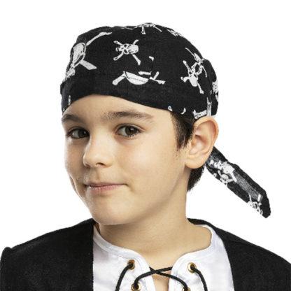 Bandana pirata con teschi bambino